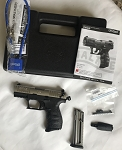 Walther P22 CA Nickel