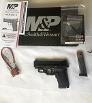 Smith & Wesson M&P 380 Shield EZ with Crimson Trace Green Laserguard