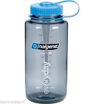 Nalgene 32oz Wide Mouth WM Gray Tritan