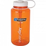 Nalgene 32oz Wide Mouth WM Orange Tritan