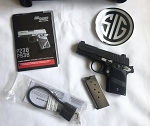 Sig P938 Nightmare 938-9-NMR-AMBI 9mm  Pistol