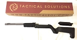 Tactical Solutions Backpacker X-Ring Takedown Barrel and Stock Combo TD 10/22 Backpacker black and GMG