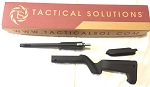 Tactical Solutions Backpacker X-Ring Takedown Barrel and Stock Combo TD 10/22 Backpacker Black and Black