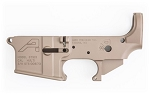 Aero Precision AR 15 Stripped Lower Multi Cal STS (Short Throw Safety) FDE