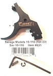Timney Trigger #631 Savage 110 Adjustable 1.5 - 4 LBS