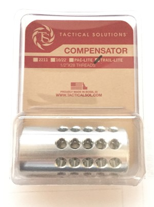 Tactical Solutions Trail Lite .22LR Compensator Muzzle Break Silver