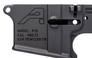 Aero Precision AR15 Special Edition Stripped Lower Receiver: PEW