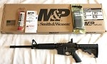 Smith and Wesson S&W M&P15 Sport II 6-Postion Stock Black