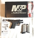 S&W SHIELD M&P40 .40SW FS BLACKENED SS/BLACK POLYMER