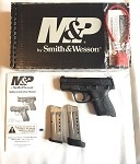 S&W SHIELD M&P9 9mm  FS BLACKENED SS/BLACK POLYMER