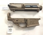 AERO PRECISION .308 FDE Set Stripped Lower and UPPER M5