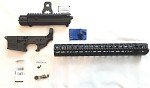 AERO Precision M4E1 Builder Set w/ 15 inch  Key Mod Handguard  Stealth Grey