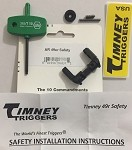 AR Timney Trigger 49 degree Safety Selector