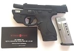 S&W SHIELD M&P9 9MM LUGER FS W/GREEN LASER W/THUMB SAFETY