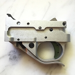 Ruger 10-22  Timney Trigger Silver Housing and GREEN SHOE 1022-5C-16