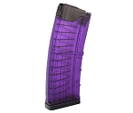 Lancer Systems AR Translucent Purple Magazine - 30 Round