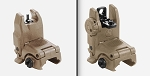 Magpul MBUS Flip Up Sights Set - FDE