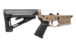 AERO PRECISION AR15 Enhanced Complete Lower Receiver w/ Magpul MOE & STR - FDE Cerakote